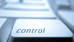 Control button on computer keyboard